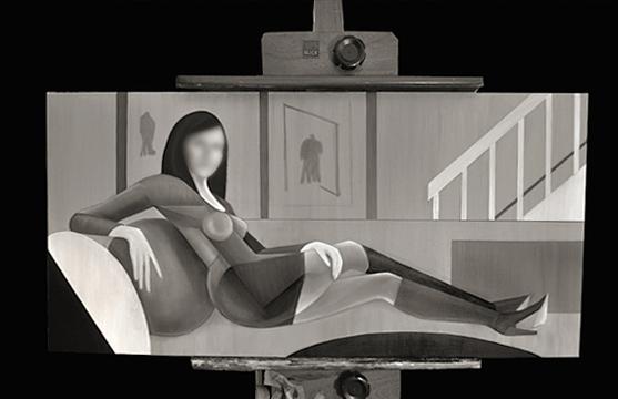Woman reclining © Britt Conley