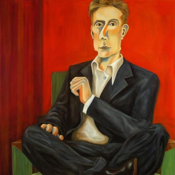 "Mr. Eans 36x36"" Oil on Canvas"