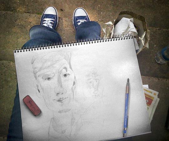 Sketching today © Britt Conley