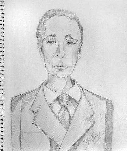 Portrait of a Man © Britt Conley