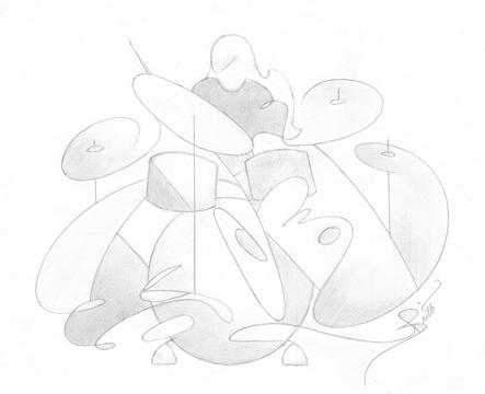 The Little Drummer Girl © Britt Conley