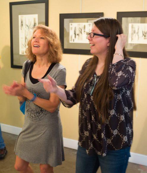 Musical Phrasings Show by Britt Conley