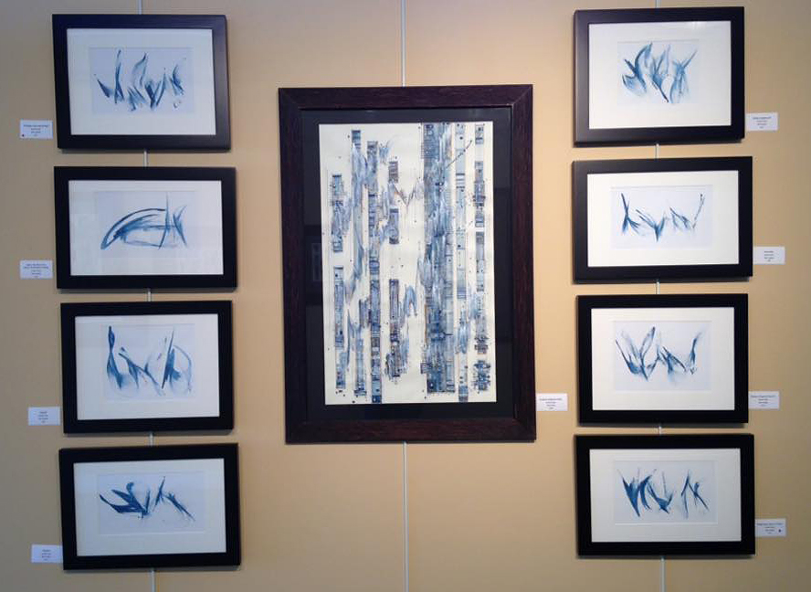 Rapsody in Blue by Britt Conley