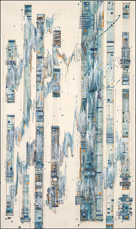 Rhapsody in Blue by Britt Conley
