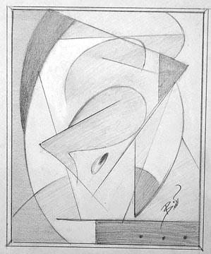 L1 Graphite on paper 6.75 x 8.25