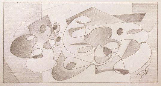 "Creative Joy 4 x 7.5"" Graphite on paper"