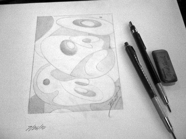 Today's sketch © Britt Conley