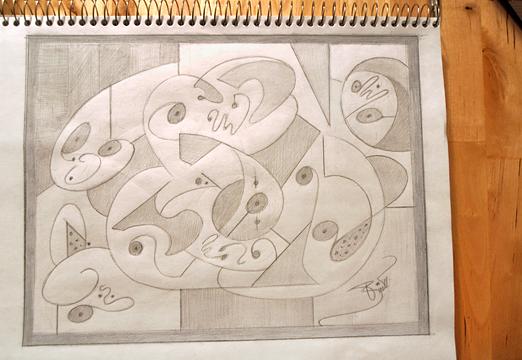 Today's Drawing © Britt Conley
