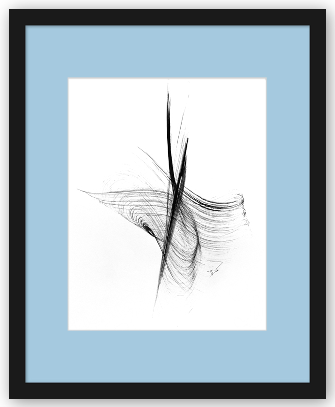 Framed Fine Art Print: Conductor Christopher Hogwood