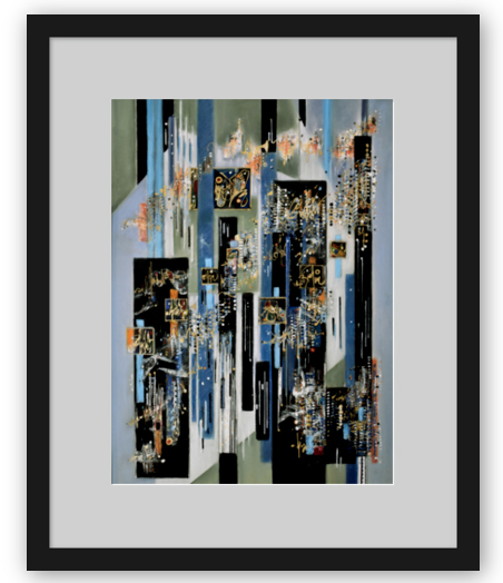 Framed Fine Art Print: I Got Rhythm
